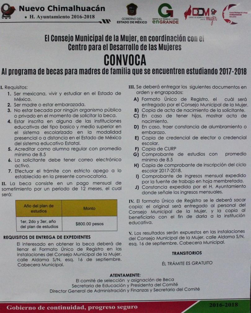 Apoya Chimalhuacán A Jóvenes Estudiantes Embarazadas Y Madres